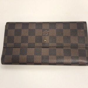Louis Vuitton Monogram Wallet Porte Tresor